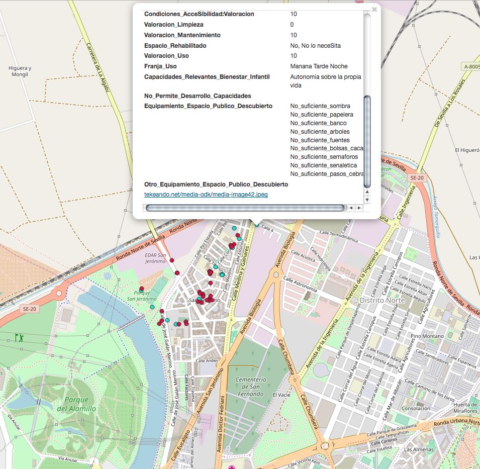 Mapa San Jeronimo