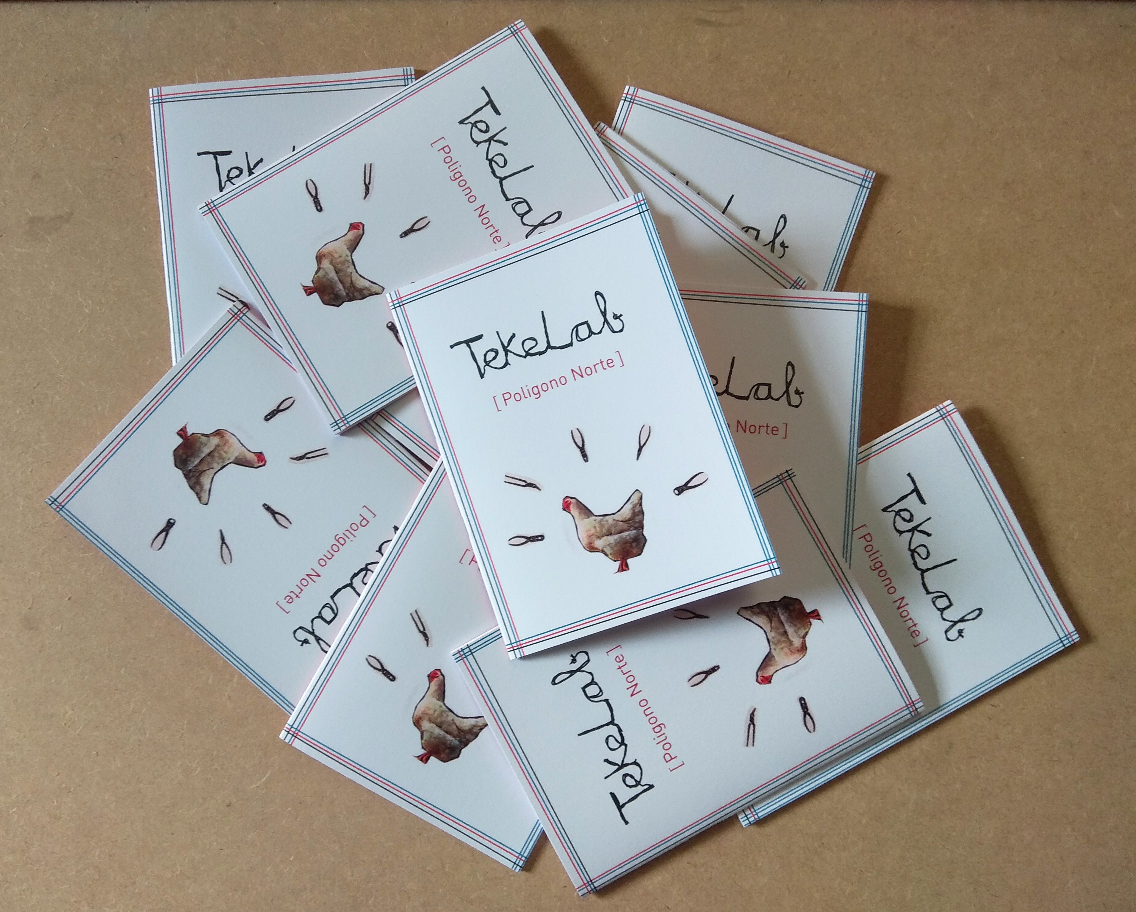 Cuadernillos TekeLab recién sacados del horno¡¡